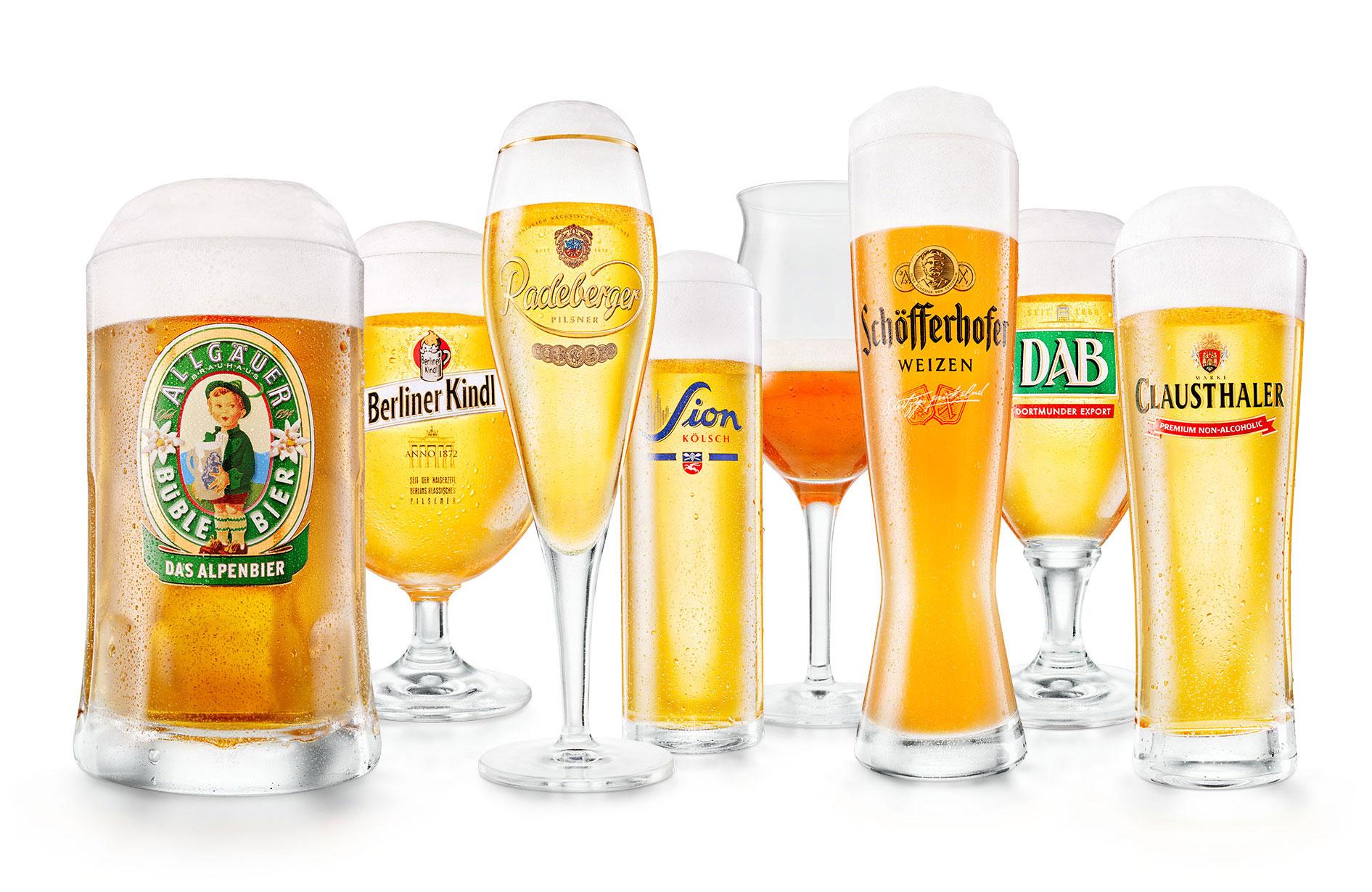 Radeberg Gruppe Deutsches Bier