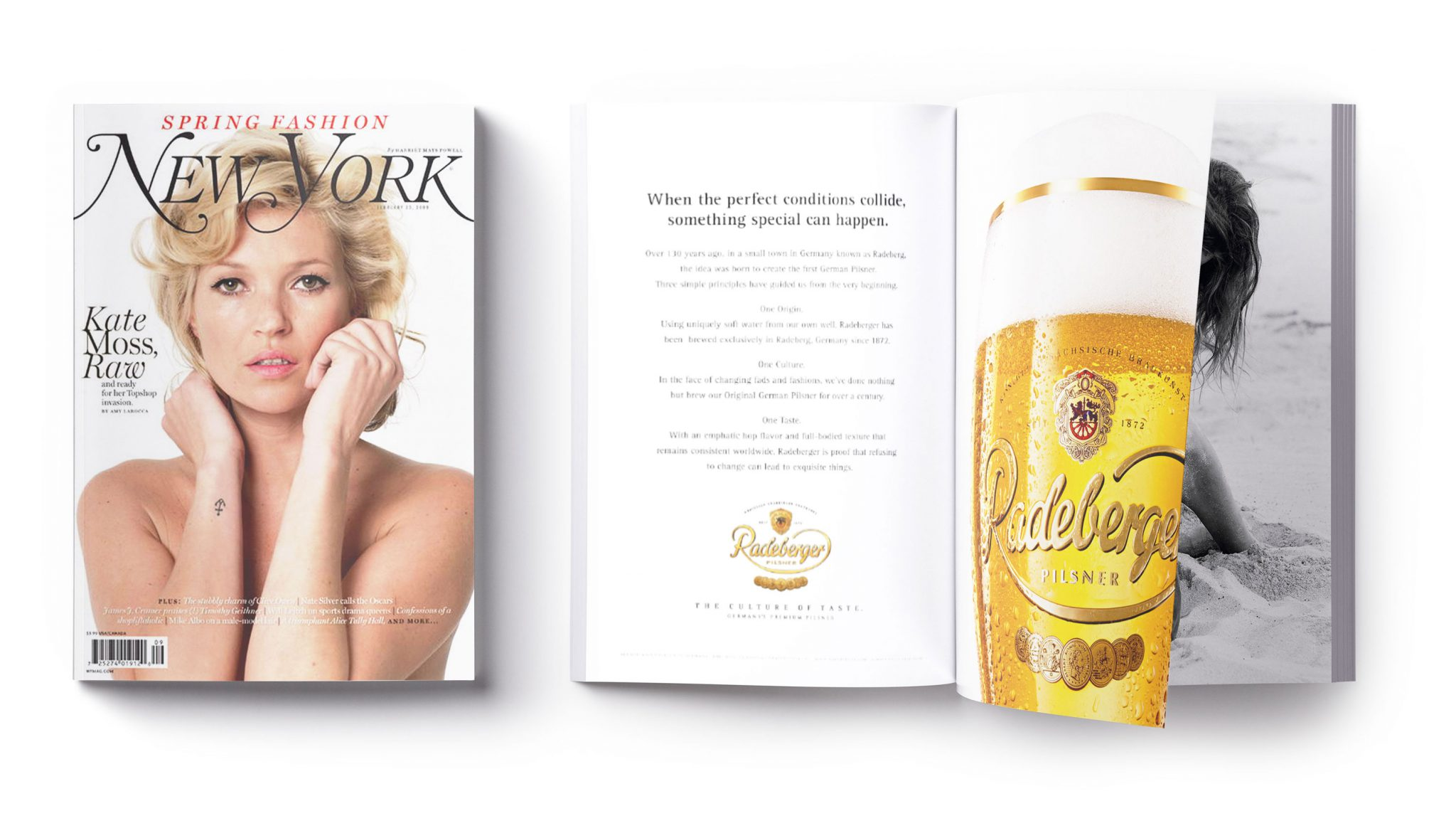 Radeberger Pilsner Magazine Adverts