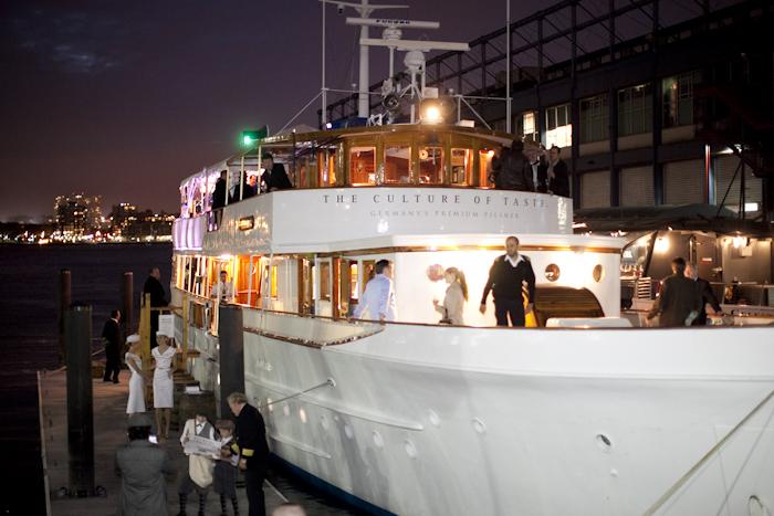 Radeberger Pilsner Maiden Voyage Boat