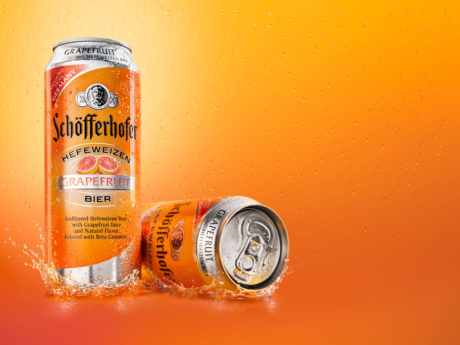 Schoefferhofer Grapefruit Cans